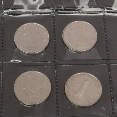 5x 30 Pockets Coin Holders Collection Storage Plastic Money Album Case Envelope 4