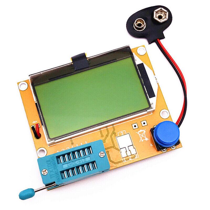 Tout-en-1 Composant de testeur LCR Transistors Diode Capacitance Inductance EDI 2