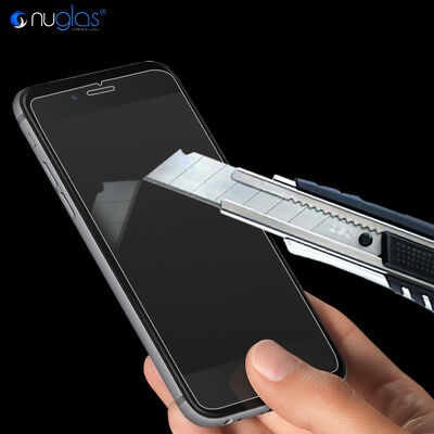 2x Apple iPhone 7 / 7 Plus GENUINE NUGLAS 9H Tempered Glass Screen Protector 4