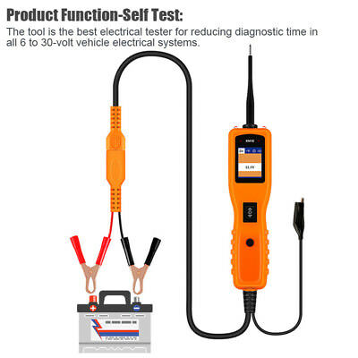 Car 12V Power Scan Circuit Tester Electrical System Probe Detector AVOmeter Tool