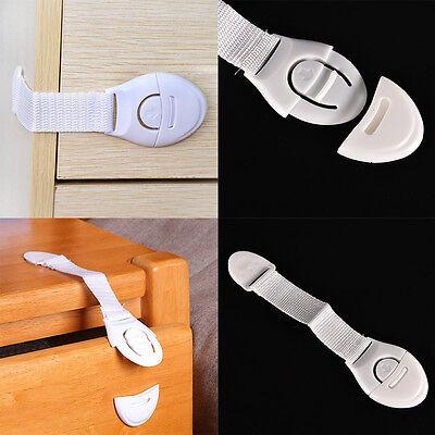 Child Infant Toddler Safety Locks for Fridge Drawer Door Cupboard Cabinet OD 2