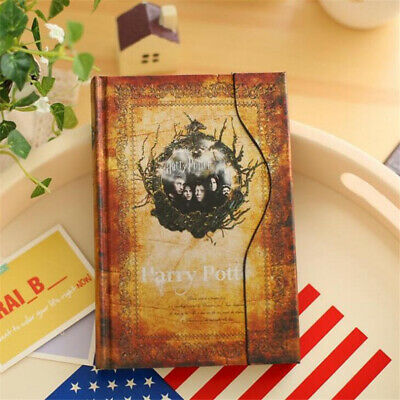 4 Color Travel Notebook Journal Books Harry Potter Vintage Agenda Notepad Diary 2