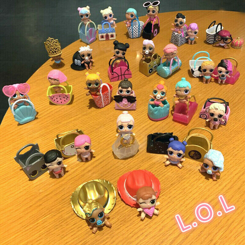 1000 styles LOL Surprise Dolls Glam Glitter Queen Bee UNICORN LIL Sister Pet toy 7