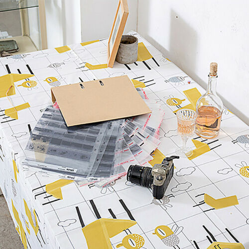 Tablecloth Waterproof Rectangular Printed Table Cloth Cover Kitchen Decor 6A 10
