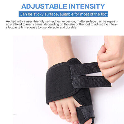 2pcs Toe Bunion Splint Straightener Corrector Hallux Valgus Gout Pain Foot Brace 12