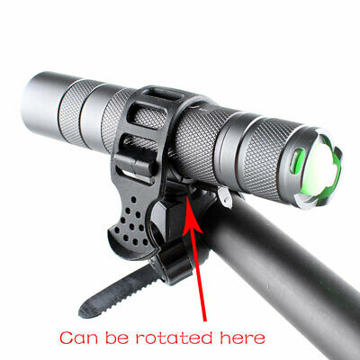 Metal Detector Detecting PIN POINTER Flashlight Holder Mount Torch Clips Clamp 3