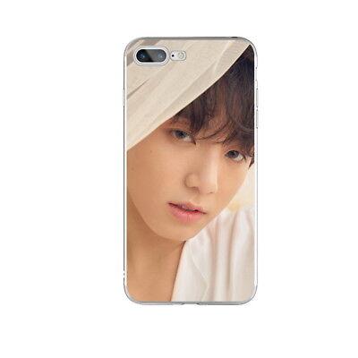 KPOP Bangtan Boys Soft TPU Phone Case Cover For iPhone X 6 6s 6 7 8 Plus 10