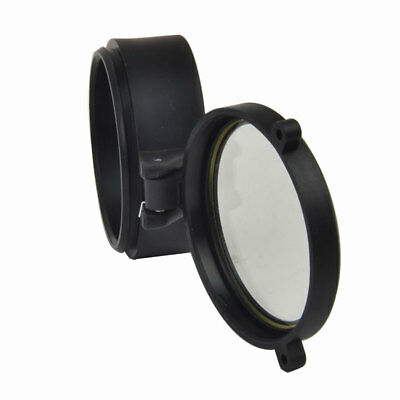 Quick Flip Riflescope Rifle Scope Protect Objective Cap Lens Covers for Caliber 7