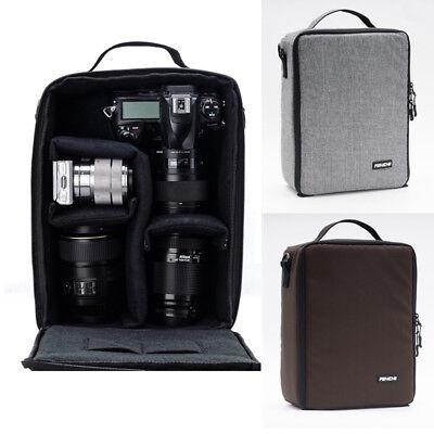 Camera Bag Padded Insert Carry Case Partition For DSLR SLR Canon Nikon Sony Lens 2