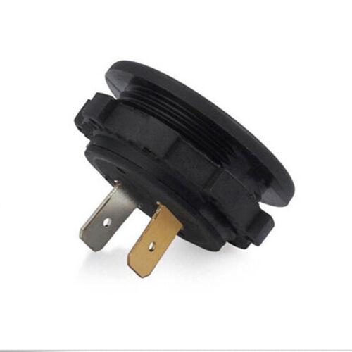 5-48V car marine motorcycle led digital voltmeter voltage meter battery gauge~OY 4