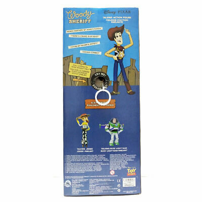 Toy Story Sheriff Woody Jessie Doll Kid Baby Soft Talking Action Figures Toy 6