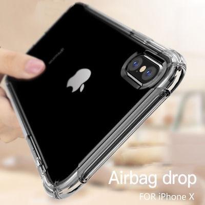 Antichoc Silicone TPU renforcé Coque Pour iPhone 11 XR XS Max 2019 8 7 6s Plus 8