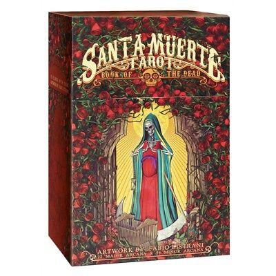 Santa Muerte Tarot Cards Deck Fabio Listrani Esoteric Telling Lo Scarabeo New
