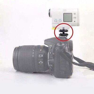 "Pro type 1/4""-20 Tripod Screw to Flash Hot Shoe Mount Adapter GNG$ 3"