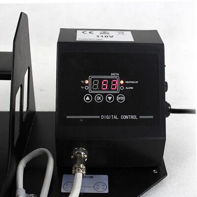 2in1 Station Mug Cup Heat Press Machine Sublimation For 11OZ 12OZ 10