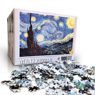 Puzzle Adult 1000 Piece Wooden Jigsaw Decompression Home Game Toy Gift Kids 2