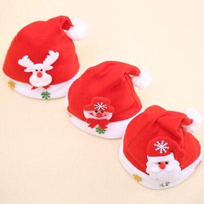 a694c9ef01798 ... Christmas LED Light Hat Cartoon Santa Claus Elk Snowman Xmas Cap for Adult  Kids