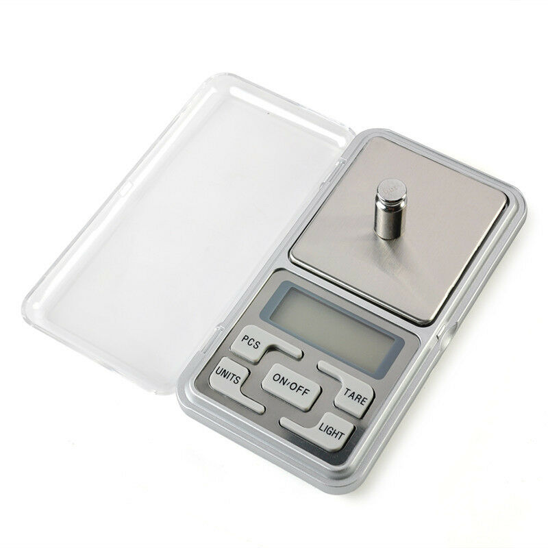 Digital LCD Scale Electronic Balance Weighing Jewelry Pocket Gram 0.01g-500g 9