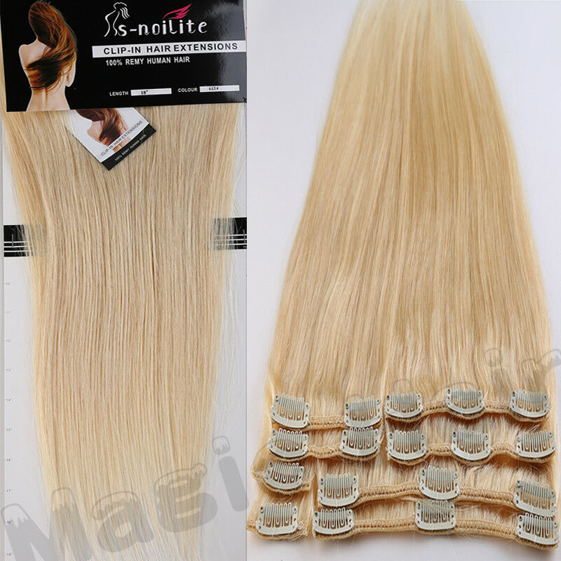 Clip In Hair Extensions Real Human Hair Image Collections Hair
