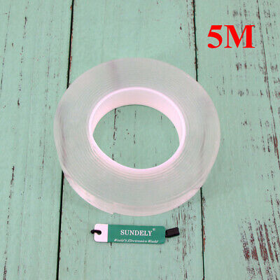 Magic Multifunctional Double-Sided Adhesive Tape Traceless Washable Removable AU 6