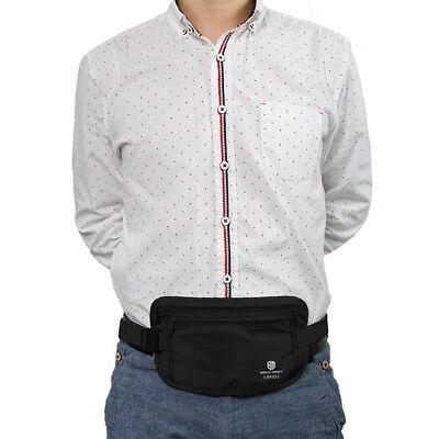 RFID Travel Waist Bum Bag Anti Theft Pouch Belt Passport Holder Safe Strap Sport 11