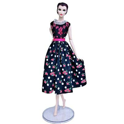 "Fashion Doll Clothes For 11.5"" Doll Dress Outfits Gown Top Floral Midi Skirt 1/6 3"