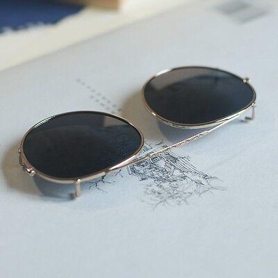 e5541f07704 ... 3 of 5 Johnny Depp Clip-on Sunglasses Lens Round Polarized Flip-up  Sunglass Lens 44mm 4