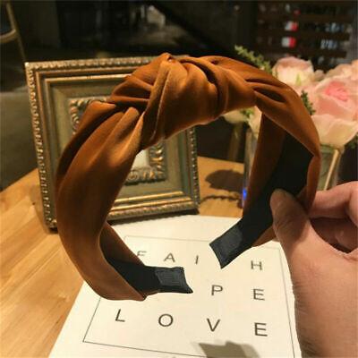 Women's Girl Hairband Twisted Knot Headband Headwrap Hair Band Hoop Accessories 3