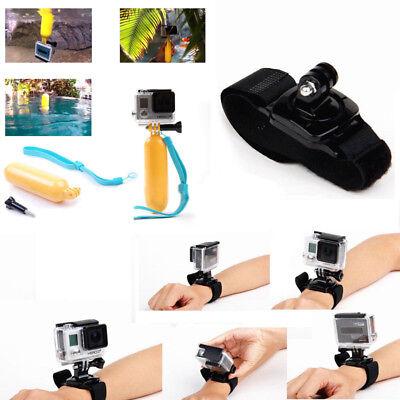 Head Wrist Strap Suction Cup Mount Camera Kits for SJCAM Xiaomi Yi Eken H9 Gopro 3
