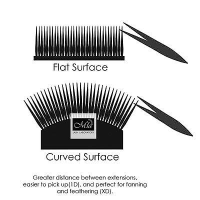 Curved Tile Large Lash Stand XD Volume Glue Pallet Drawer Eyelash Extension
