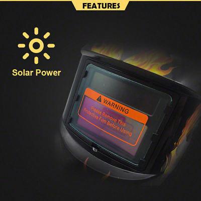 Pro Solar Auto Darkening Welding Helmet Arc Tig Skull Mask 5