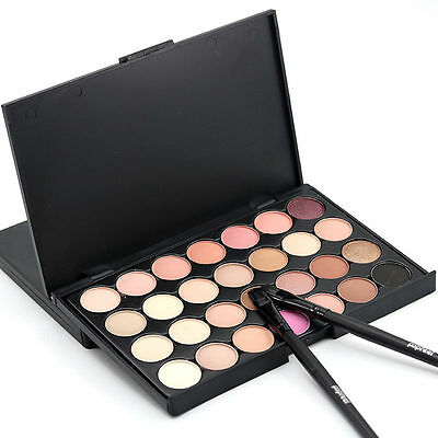 Fashion 28 Colors Eyeshadow Palette Smokey Makeup Eye Nude Cosmetic ChocolatePB