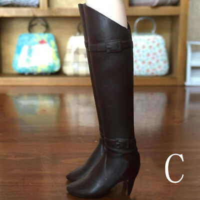 Fashion High Heel Shoes For Blyth Dolls 1/6 Fashion Boots For Licca Doll Shoes 2