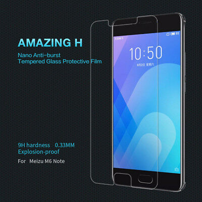 2Pcs 9H Tempered Glass Film Screen Protector Cover For Meizu M5 M6 M5Note M6Note 10