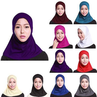 Donna Sotto Sciarpa Cappello Cappello Ninja Hijab Islamico Collo Copertura 2