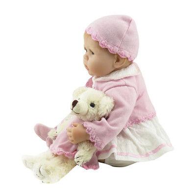 "22"" Real Life Baby Dolls Silicone Vinyl Reborn Lifelike Realistic Newborn Girl A 9"