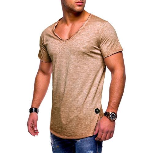 33382f83b97b4 Herren Kurzarm Shirt Bodybuilding Muskelshirt Slim Fit T-Shirt Oberteil  Fitness 9 9 von 9 Siehe Mehr