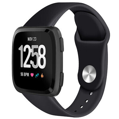 For Fitbit Versa Smartwatch Soft Silicone Replacement Sports Classic Band Strap 2
