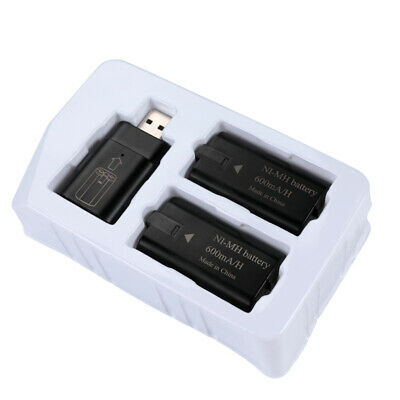 For Xbox One Controller 8x Rechargeable Battery Pack +Charger Charging Dock Kits 10