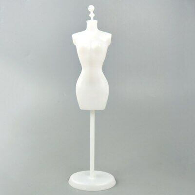 """Display Holder Support For 11.5"""" Doll Clothes Outfit Dress Gown Mannequin Model 4"""
