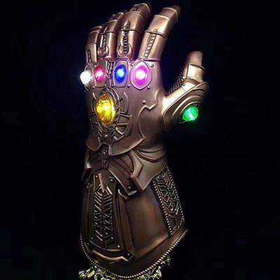 Thanos Infinity Gauntlet Marvel Legends Gloves Avengers 2018 Figure & LED LIGHT 2