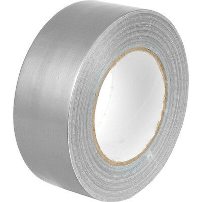 "Strong Silver Duck Duct Cloth Waterproof Gaffer Gaffa Tape 2"" 48mm X 50m"