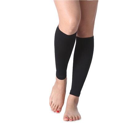20-30 mmHg Medical Calf Compression Sleeve Socks Support Stockings Travel Flight 3
