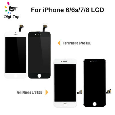 OEM iPhone 6 6s 7 8 Plus Lcd Accembly Digitizer Complete Set Screen Replacement 5