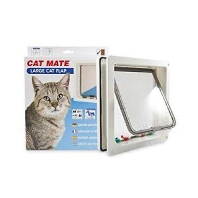 Cat Mate Lockable Large Cat Flap - BROWN (221B) 2