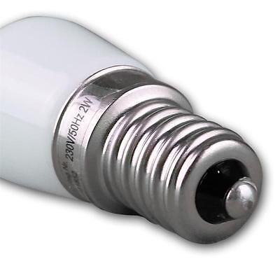 E14 Lampe LED Mini Blanc Chaud 140lm 230V 2W,Source D'Éclaraige Réfrigérateur 6
