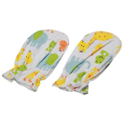 5 Pairs Soft Cotton Baby Anti-scratch Gloves Infant Newborn Handguard Mittens 6