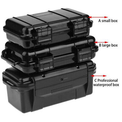 ABS Plastic Waterproof Shockproof Sealed Storage Case Outdoor Tool Dry Box 4