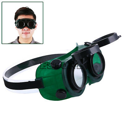 Cutting Grinding Welding Goggles With Flip Up Eye Glasses Welder Protect Safety