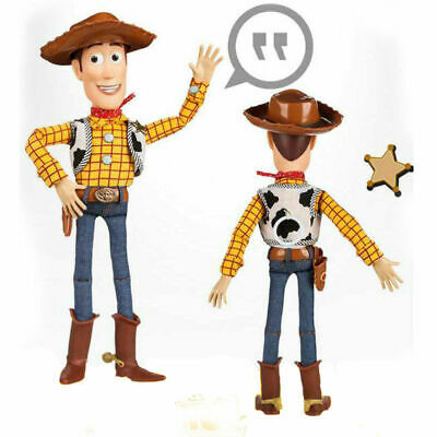 Toy Story Sheriff Woody Jessie Doll Kid Baby Soft Talking Action Figures Toy 4